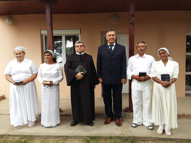 Pict. 5: Baptism in Pele